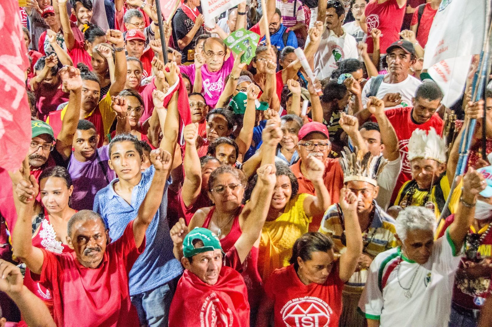 A Greve Geral do dia 28 é um grito contra a Reforma da Previdência e a Reforma Trabalhista que estão em tramitação no Congresso Nacional. (Foto: CUT/CE)