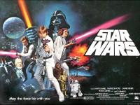 Pôster de Star Wars - Uma Nova Esperança lançado em 1977 (Foto: Reprodução/Internet)