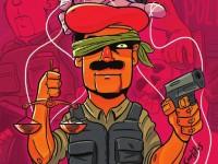 A Cartilha pela Desmilitarização da Polícia e da Política foi lançada em 2015 e contou com os desenhos do ilustrador Carlitos.