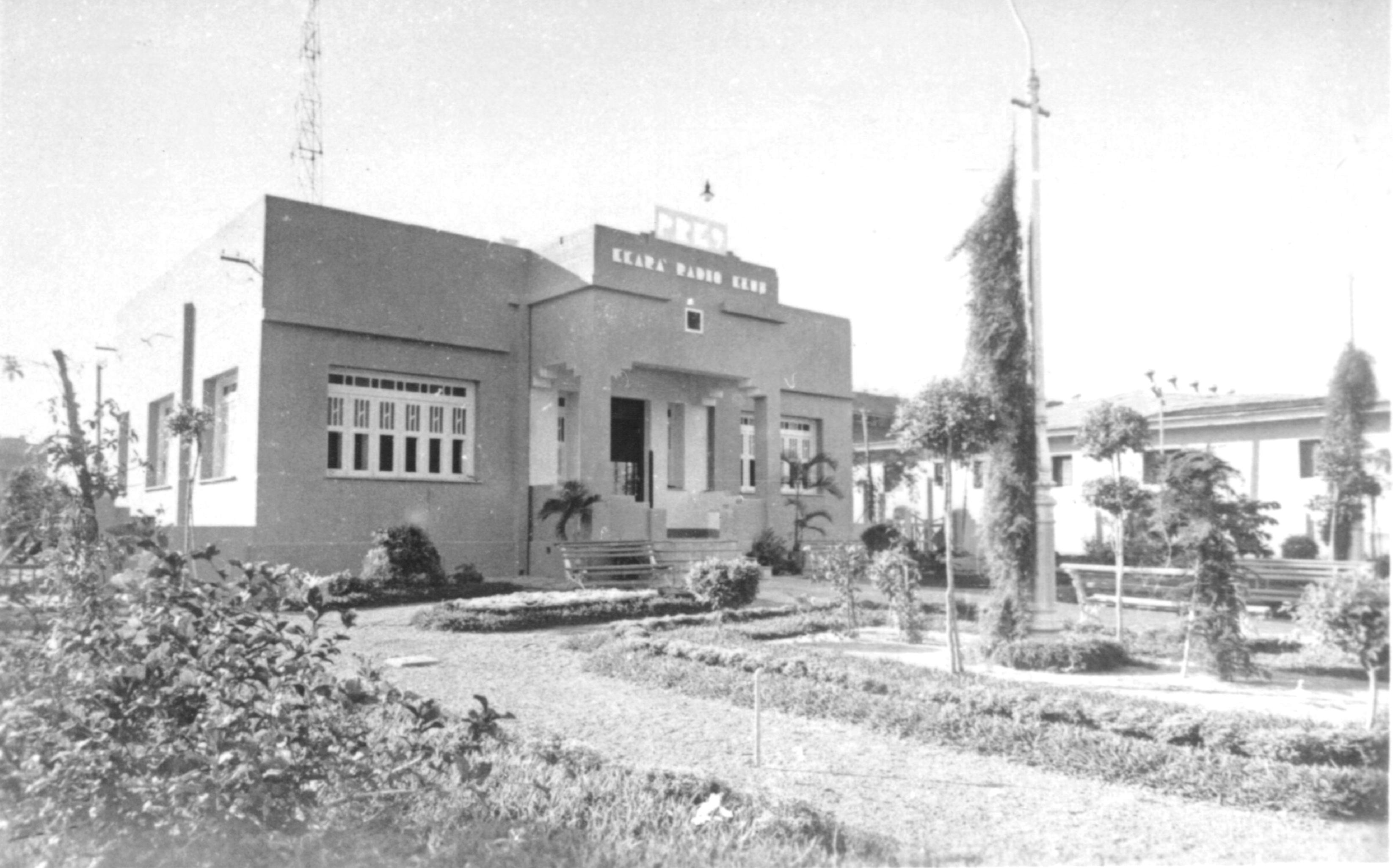 A Ceará Rádio Clube foi a primeira rádio oficial de Fortaleza (Foto: Reprodução/Internet)