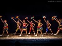 Oré Anacã em um espetáculo de frevo, uma dança popular pernambucana (Foto: Alex Mendes)