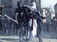 O jogo Assassin's Creed retrata a rivalidade entre duas sociedades secretas tendo como pano de fundo elementos históricos (Foto: Divulgação)