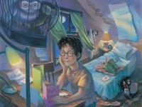 Os livros de Harry Potter nos Estados Unidos ganharam ilustrações da artista Mary GrandPré (Foto: Divulgação)