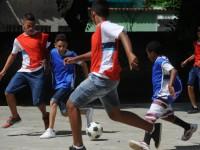 Desde 1996, a educação física é obrigatória em qualquer escola brasileira (Foto: Tânia Rêgo/Agência Brasil)