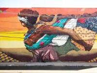 """O mural """"Eva"""", do Acidum Project, é um exemplo da arte não elitizada (Foto: Reprodução/Street Art Brasil)"""