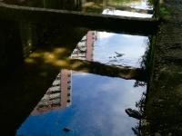 A exposição Excursão Pajeú retrata o contraste entre o riacho Pajeú e Fortaleza (Foto: Cecília Andrade)