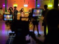 Set do filme Guerra da Tapioca (2017), produção cearense dirigida por Luciana Vieira e Wislan Emeraldo que será exibida na TV este dezembro (Foto: Jaime Luiz Vieira)
