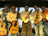 O grupo Cordas que Falam já se apresentou, ao vivo, no programa Brasileirinho (Foto: Divulgação)
