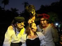 O grupo Dona Zefinha surgiu no município de Itapipoca (CE) e, há 25 anos, aposta em uma arte autoral e autêntica (Foto: Paula Rocha/Divulgação)
