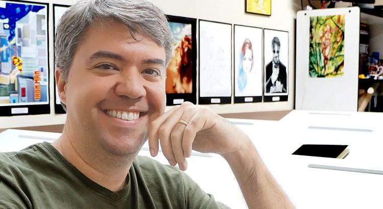 Daniel Brandão já ganhou três prêmios HQ Mix, considerado o Oscar dos quadrinhos no Brasil, pela publicação Manicomics (Foto:Arquivo Pessoal)