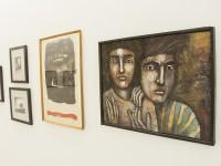 A sala de Arte Cearense possui 27 obras de 26 artistas que fizeram parte do cenário artístico do estado (Foto: Ribamar Neto/UFC)