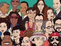 Os encontros já trataram sobre Tom Jobim, Elis Regina, Belchior e Luiz Gonzaga e abordam os mais diversos ritmos como a bossa nova, o samba, o chorinho e o baião (Ilustração: Rafael Nobre)