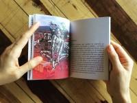 O livro Danza é uma parceria de Raisa Christina com o artista argentino Nahuel Souto Martínez (Foto: Divulgação)