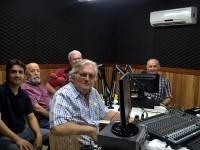 Toda a equipe do programa se reuniu no   Encontro com Jazz  em homenagem ao professor, produtor e apresentador José Antônio Lemenhe (Foto: César Martín)