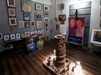 O MiniMuseu Firmeza possui uma sala dedicada a seus fundadores, Estrigas e Nice (Foto: MiniMuseu Firmeza)
