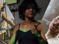 Lua Underwood, Carolina Rebouças e Zeca (Fotos: Helenita Matos / Liz Filardi / Thamila Santos)