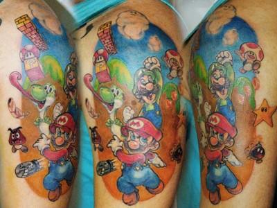 Para Juan Heros, é fundamental que o tatuador conheça diferentes técnicas e não se limite a apenas um estilo de tatuagem (Foto: Arquivo pessoal)