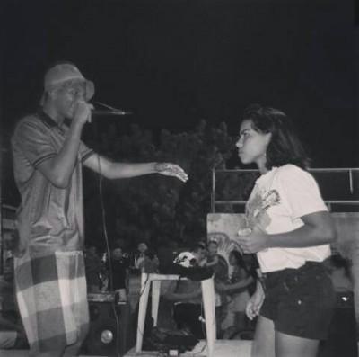 A rapper Rebeca Macedo explica que ainda há um estranhamento por parte dos homens ao ver uma mulher participando de batalhas (Foto: Arquivo Pessoal)