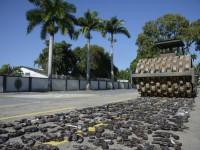 Operação Vulcão destruiu 8.549 mil armas em uma cerimônia realizada em julho deste ano no Rio de Janeiro (Foto: Bruno Albernaz/G1)