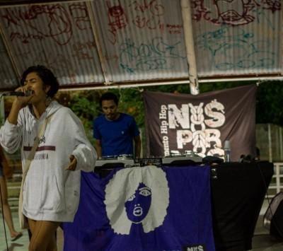 Lêza MC é rapper e uma das organizadoras da Batalha do Jangú, que acontece todas as quartas-feiras no Cuca do Jangurussu (Foto:Arquivo pessoal)