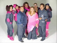 Fat Family é formado inicialmente pelos irmãos Sidney, Celinho, Celinha, Simone, Suzetti, Kátia e Deise Cipriano (Foto: Reprodução/Internet)