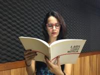 A jornalista Raquel Chaves, que participou da produção do programa Ação Contra a Aids, quando ainda era estudante (Foto: Arquivo Pessoal)