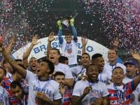 Fortaleza foi o primeiro time nordestino a ganhar um campeonato nacional por pontos corridos (Foto: Gustavo Simão/ O Povo)