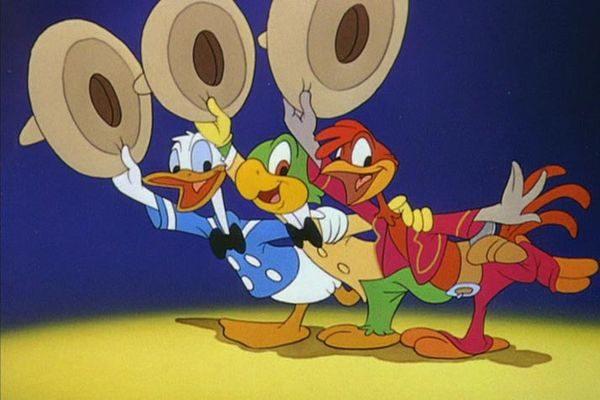 No filme Você Já foi à Bahia?, Pato Donald conhece a América Latina com Zé Carioca e Panchito (Foto: Reprodução/Internet)