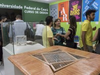A 1ª edição da Ceará Design Week permanece no Museu da Indústria até junho de 2019 (Foto: Viktor Braga/UFC)