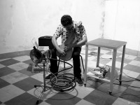 O artista sonoro apresenta obras de quatro álbuns lançados em 2019 (Foto: Nuno Martins/Divulgação)