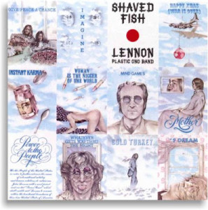 John Lennon Capa LP Saved Fish