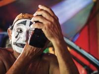Após quase 60 anos de vida circense, José de Abreu Brasil (Palhaço Pimenta) ganhou a outorga de Tesouro Vivo da Cultura  (Foto: Jarbas Oliveira)