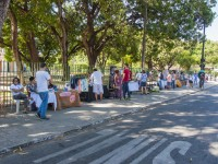 Pequenas feiras são tradicionais no bairro do Benfica (Foto: Ribamar Neto)