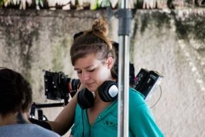 Luciana Vieira está trabalhando, atualmente, na finalização do telefilme Guerra da Tapioca (Foto: Jaime Luiz Vieira)