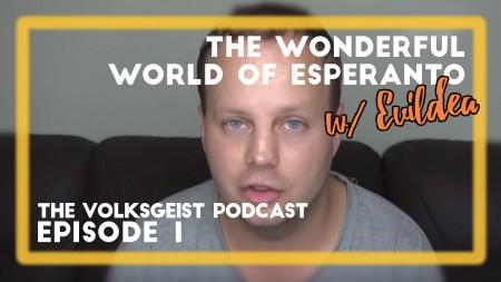 O Esperanto é um idioma alternativo para se comunicar com pessoas de outras nacionalidades. O australiano Richard Delamore (Evildea) usa o Esperanto para se comunicar com pessoas de todo o mundo através do seu canal no YouTube (Foto: Reprodução/Youtube)