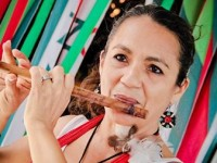 A cantora Eliahne Brasileiro participou do cd Solo Feminino 2 interpretando a canção Mamulengo Cigano, composição de Pingo de Fortaleza (Foto: Arquivo Pessoal)