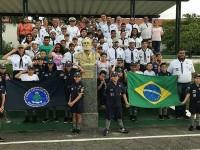 O Grupo Escoteiro do Mar Marcílio Dias ficou inativo por dez anos, mas, em 2016,  retornou com atividades para crianças e jovens (Foto: Arquivo Pessoal/Instagram)