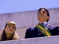 Fernando Collor de Mello foi o primeiro presidente eleito por voto popular após a redemocratização. A posse aconteceu em 15 de março de 1990 (Foto: Reprodução/Internet)
