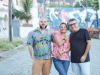 Flávio Paiva convidou Gustavo Portela e Ilya para participarem do CD-livro  Bulbrax - Sociomorfologia Cultural de Fortaleza  (Foto: Carol Monteiro/Divulgação)