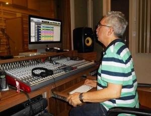 Fundado por Marcílio há mais de 25 anos, o Proaudio Studio realiza trabalhos de dublagem em Fortaleza. (Foto: Arquivo Pessoal)
