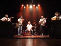 Apresentação do Quinteto Agreste no Teatro Carlos Câmara em janeiro de 2017 com o show Patativando, uma homenagem ao poeta cearense Patativa do Assaré (Foto: Rodrigo Claudino)
