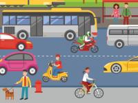A educação de trânsito é fundamental para a prevenção de acidentes. Em 2017, após cinco anos em queda, as mortes no trânsito tiveram alta de 23% (Foto: Reprodução/Internet)