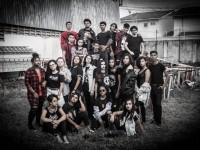 O Coral Canto da Casa é formado por jovens de 15 a 21 anos, estudantes de escolas públicas de Fortaleza (Foto: Arquivo Pessoal)