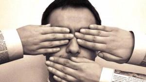 No caso da imprensa, a censura é qualquer forma de restrição da liberdade de noticiar os fatos e acontecimentos (Foto: Reprodução/ Internet)