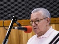 O professor Henry de Holanda Campos, Reitor da UFC, participou do programa Rádio Debate no dia 07 de maio (Foto: Viktor Braga/UFC)