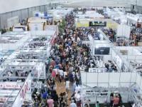 Na 12ª edição da Bienal Internacional do Livro do Ceará, realizada em 2017, a organização registrou mais de 55 mil visitantes por dia durante o evento (Foto: Felipe Abud/Tribuna do Ceará)