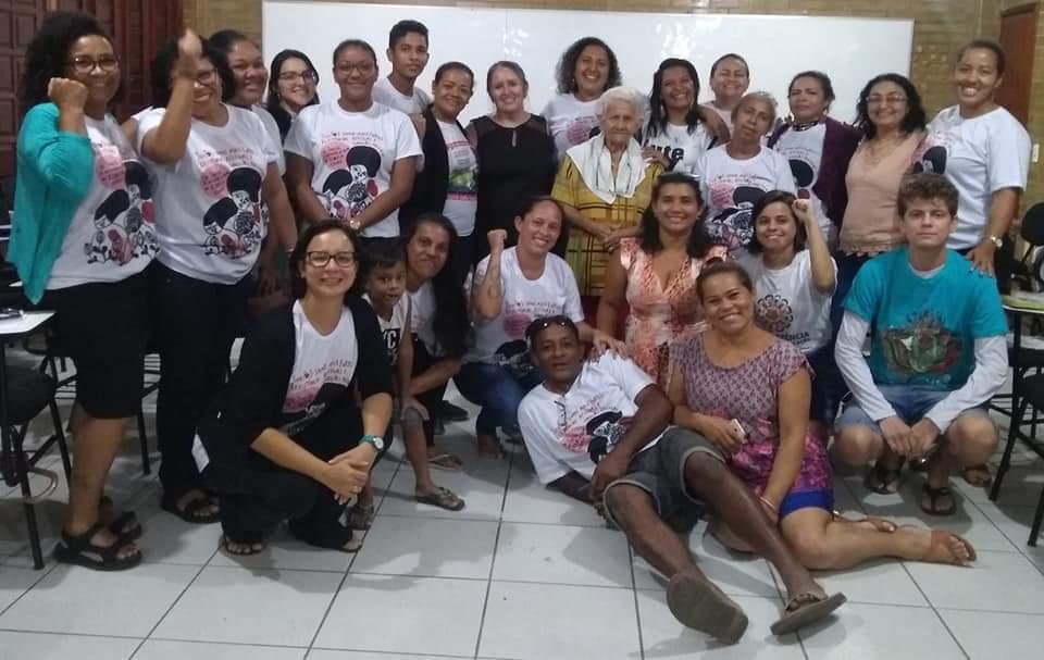 Alessandra Félix faz parte do Grupo Vozes de Mães e Familiares do Sistema Socioeducativo e Prisional de Ceará (Foto: Divulgação)