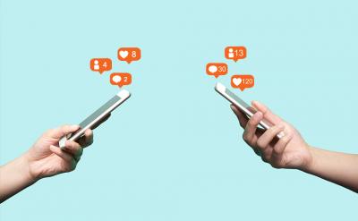 Um estudo divulgado, em 2019, pela University College London (UCL) mostrou que 12% dos usuários considerados moderados e 38% dos que fazem uso intenso de mídias sociais - mais de cinco horas por dia - mostraram sinais mais graves de depressão (Foto: Zhuyufang/iStock)