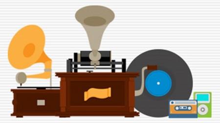 O modo de ouvir música passou por algumas mudanças ao longo do tempo. Uma das principais foi a possibilidade de se ouvir uma canção de forma mais íntima, com o uso de fones de ouvidos e aparelhos portáteis (Foto: Reprodução/Internet)