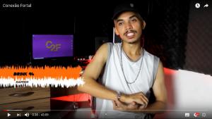 O rapper Drink 94 está presente no documentário